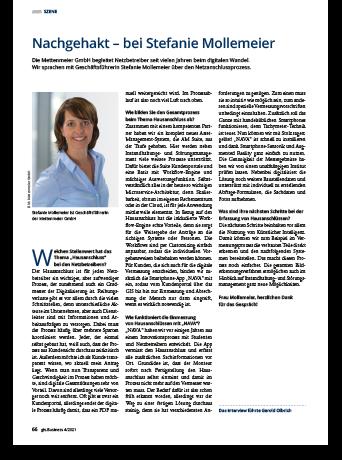 gis.Business - Interview Stefanie Mollemeier